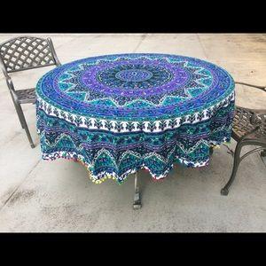 Other - Beach picnic floor table yoga Burningman soread🏖
